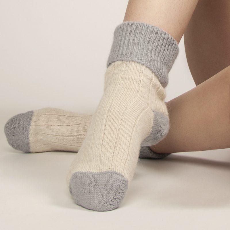 Hazel Merino Alpaca socks