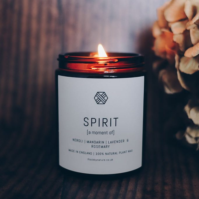 Flock by nature_spirit candle