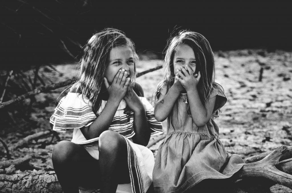 Joy on little faces